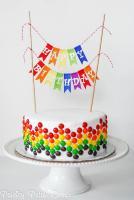 Растяжки на торт