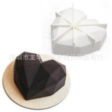 Силиконовая форма для муссовых тортов Сердце № 1