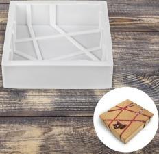 Силиконовая форма для муссовых тортов № 16