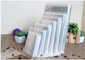 Прозрачный пакетик с липким краем, 10 шт., 29,5*19 см