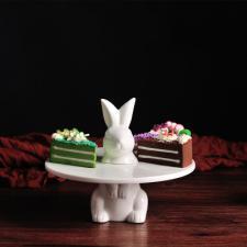 "Подставка под торт ""Стоячий зайчик"""