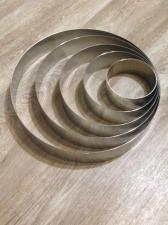 Кольца металлические круглые литые, 25 см