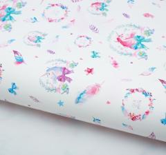 Бумага упаковочная глянцевая «Сказочная фея», 70 × 100 см