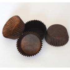 Бумажные капсулы коричневые для конфет, 10 шт.