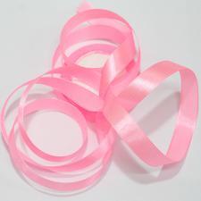 Лента атласная светло-розовая, ширина 1 см