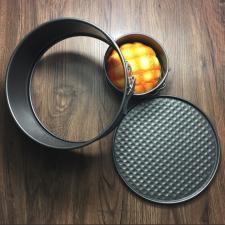 Разъемная круглая форма для выпечки, диаметр 18 см
