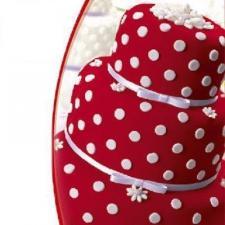 Мастика сахарная (красная) «Top decor», 600 гр