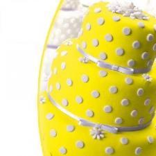 Мастика сахарная (желтая) «Top decor»,600 гр