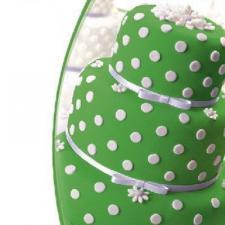 Мастика сахарная (зеленая) «Top decor»,600 гр