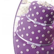 Мастика сахарная (фиолетовая) «Topdecor»,600 гр
