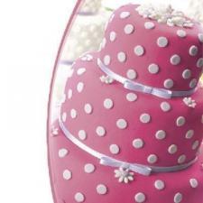 Мастика сахарная (розовая) «Top decor»,600 гр