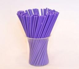 Палочки для кейкпопсов фиолетовые, 10 шт.