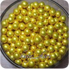 Драже Шарики золотые 5 мм, 25 гр