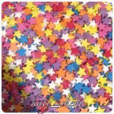 Посыпка Звезды разноцветные, 50 гр
