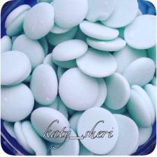 Кондитерская  глазурь голубого цвета с нейтральным вкусом Диски Centramerica Blu Dischi100 гр