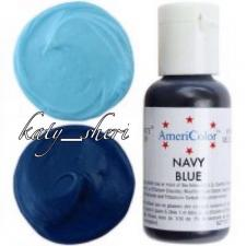 Гелевый краситель AmeriColor Navy Blue (Темно-синий), 21 гр