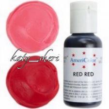 Гелевый краситель AmeriColor RED RED (Ярко-красный), 21 гр