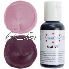 Гелевый краситель AmeriColor Mauve (Розовато-лиловая), 21 гр