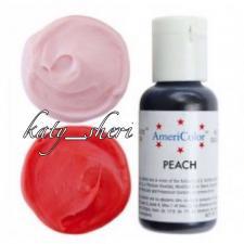 Гелевый краситель AmeriColor Peach (Персик), 21 гр