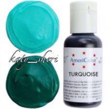 Гелевый краситель AmeriColor Turquoise (Бирюзовый), 21 гр