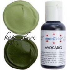 Гелевый краситель AmeriColor Avocado (Авокадо), 21 гр