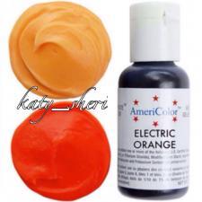 Гелевый краситель AmeriColor Electric Orange (Оранжевый электрик), 21 гр