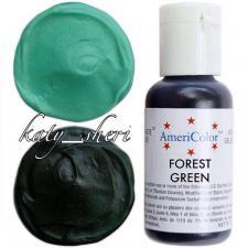 Гелевый краситель AmeriColor Forest Green (Зеленый лес), 21 гр