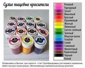 Пищевой краситель сухой «Фиолетовый» 10 гр