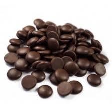 Шоколад  темный в ДИСКАХ Ariba  (54%),  Италия, Master Martini