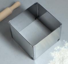 Форма для выпечки с регулировкой размера «Квадратная», 16-28 х 12 см