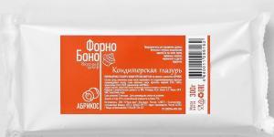 Глазурь кондитерская цветная, абрикос 300 г