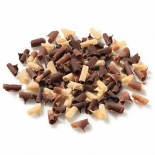 Шоколадная стружка темн/мол/бел шоколад B.C. 50 гр