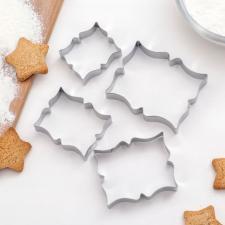 Набор форм для вырезания печенья «Рамка с орнаментом»