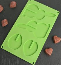 Форма для шоколада Доляна «Пасхальный кролик 3D», 29×16,8 см, 4 ячейки