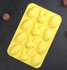 Форма для льда и шоколада  «Пасха», 23×15 см