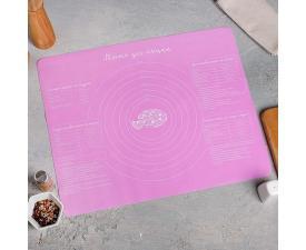Силиконовый коврик для выпечки , 50 х 40 см