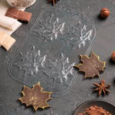 Форма для шоколада «Кленовые листья»