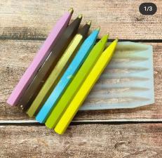 Молд карандаши плитка 12*6,8 см