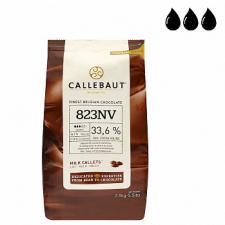 Шоколад Callebaut молочный 33,6%
