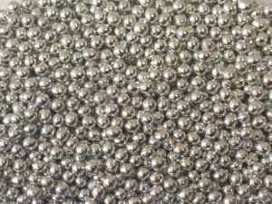 Металлизированные серебряные шарики, 6 мм