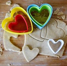 """Набор вырубок для печенья """"Сердца"""""""