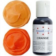 Гелевый краситель AmeriColor Orange (оранжевый), 21 гр