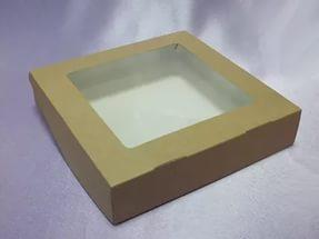 Короб ECO с окном, 200*200*40 мм