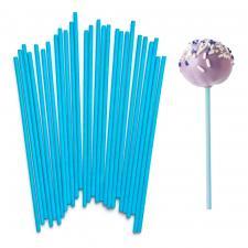 Палочки для кейкпопсов голубые, 10 шт.