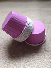 Стаканчики с ламинацией фиолетовые, 1 шт.
