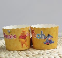 Бумажные стаканчики Винни Пух