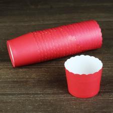 Бумажные стаканчики красные, 1 шт.