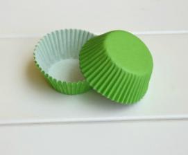Бумажные капсулы зеленые, 10 шт.