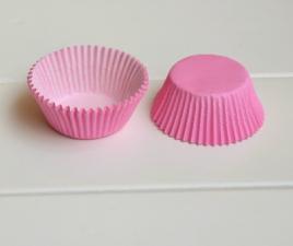 Бумажные капсулы розовые, 10 шт.